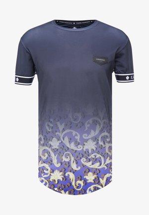 FADE BAROQUE LEOPARD TEE - T-shirts med print - black
