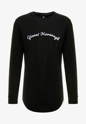 CALLIGRAPHY LONG SLEEVE  - Pitkähihainen paita - black