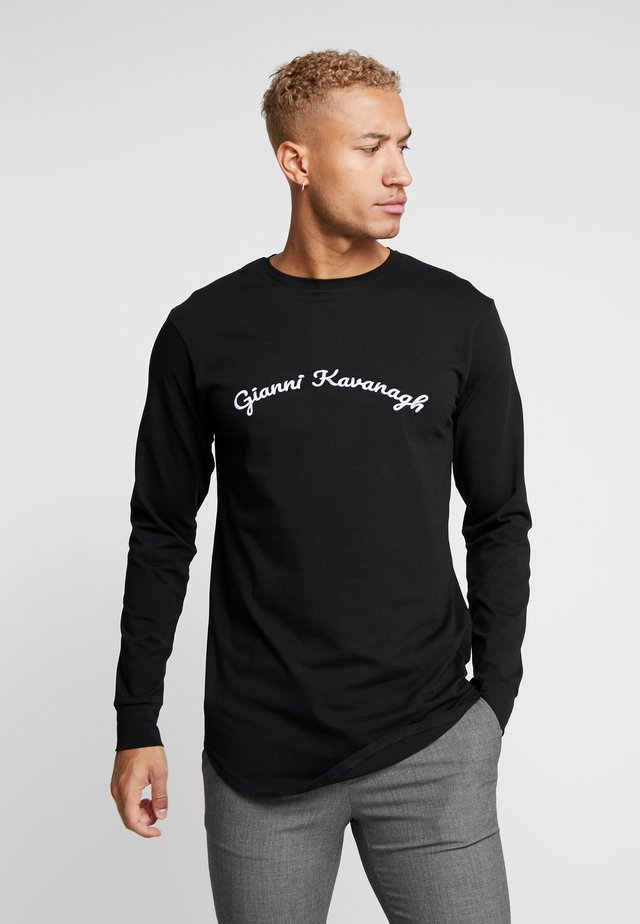 CALLIGRAPHY LONG SLEEVE  - Langærmede T-shirts - black