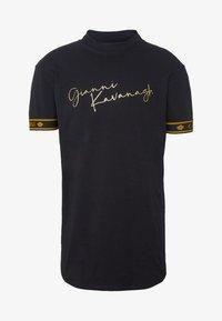 Gianni Kavanagh - TURTLENECK SIGNATURE TEE - Print T-shirt - black - 4