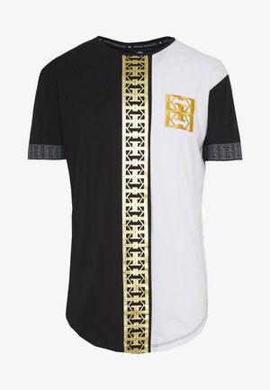 MONOGRAM TEE WITH PRINT - Triko s potiskem - multicolor