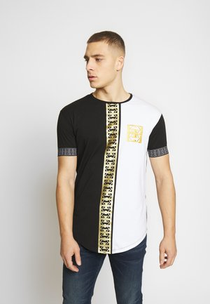 MONOGRAM TEE WITH PRINT - T-shirt imprimé - multicolor