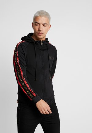 SNAKE PRINT TRACKSUIT JACKET - Training jacket - black