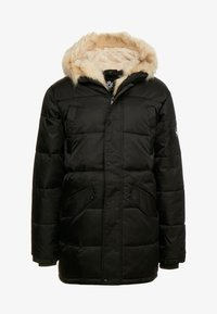 Gianni Kavanagh - WOLF COAT WITH BEIGE FUR - Parka - black - 5