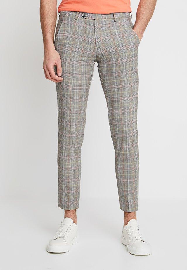 PANTALONI - Kostymbyxor - grey