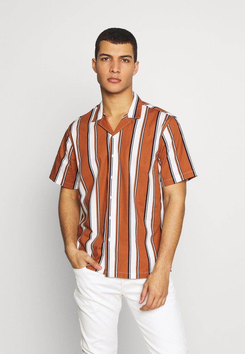 Gianni Lupo - HAWAIIAN  - Košile - brown