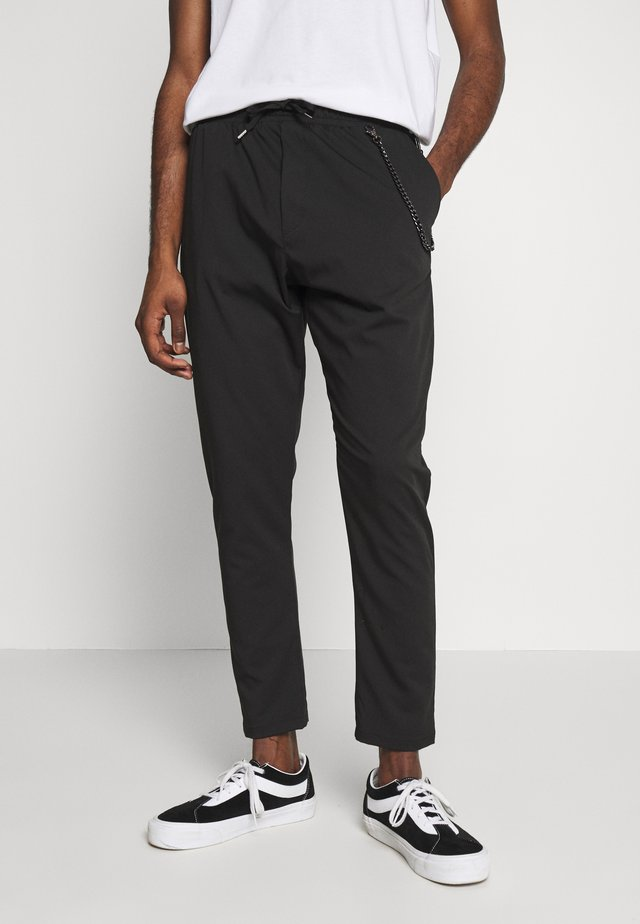 PANTALACCIO - Trousers - black