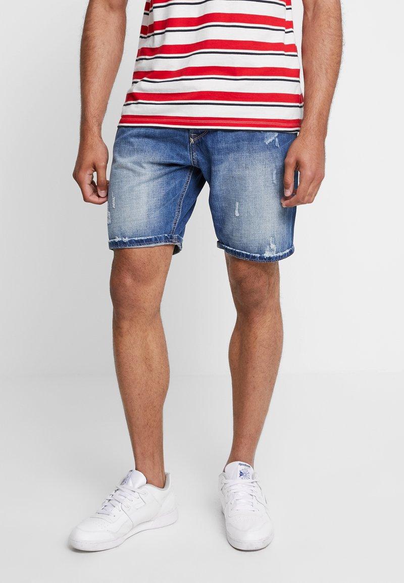 Gianni Lupo - Denim shorts - blue denim