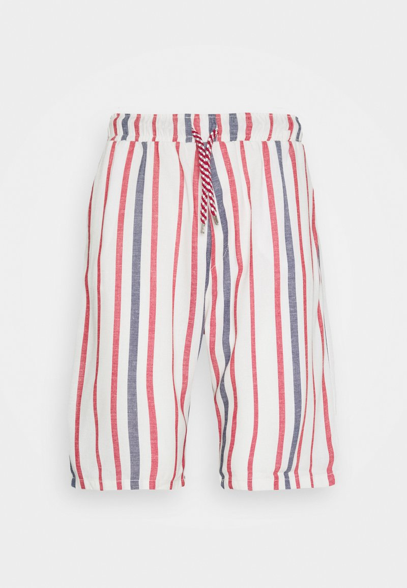 Gianni Lupo - Shorts - off-white/red