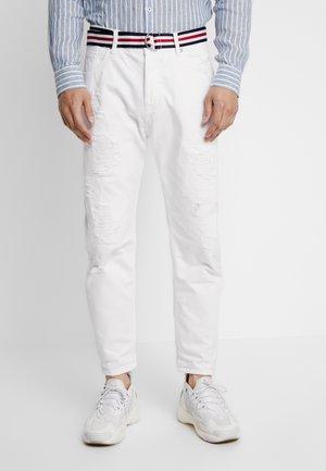Džíny Straight Fit - white denim