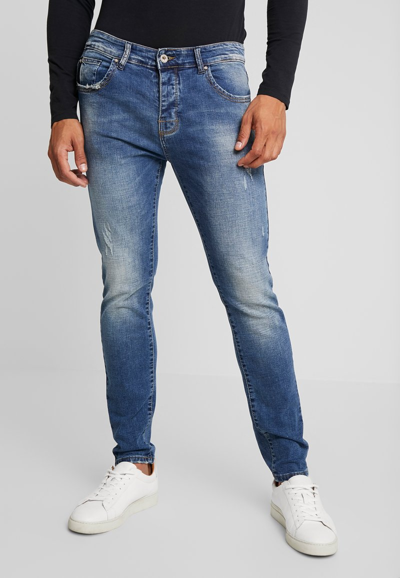 Gianni Lupo - Slim fit jeans - denim
