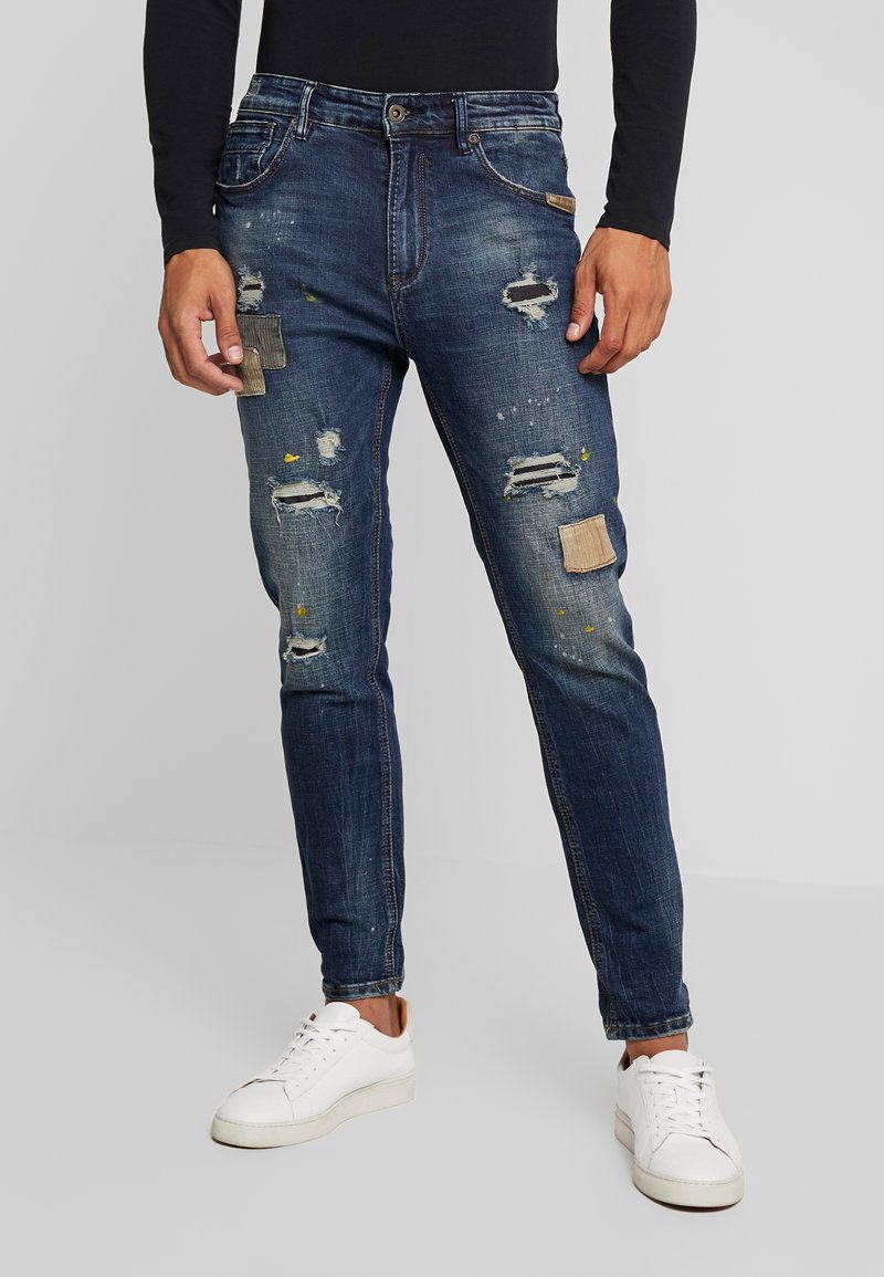 Gianni Lupo - Jeans Tapered Fit - denim
