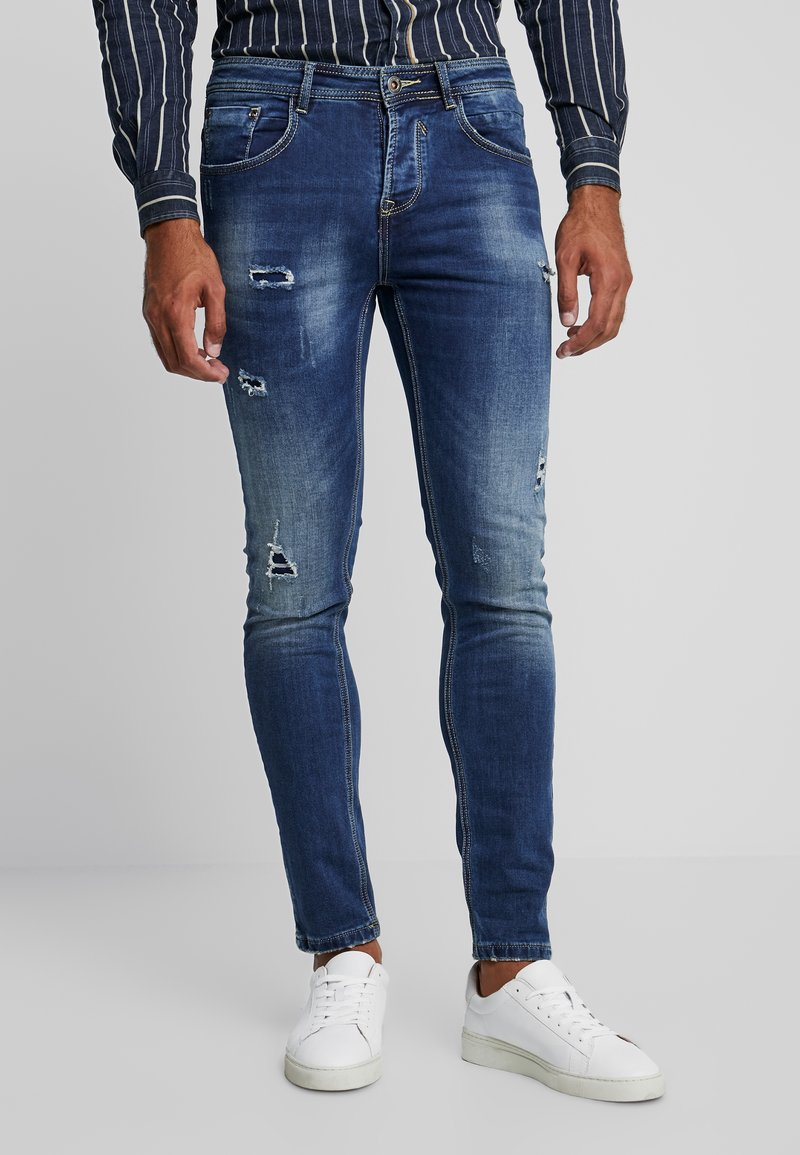 Gianni Lupo - Slim fit jeans - denim