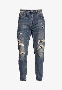 Gianni Lupo - Slim fit jeans - blue denim - 5