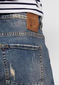 Gianni Lupo - Slim fit jeans - blue denim - 6