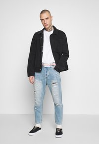 Gianni Lupo - Jeans Tapered Fit - blue denim - 1