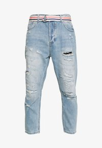 Gianni Lupo - Jeans Tapered Fit - blue denim - 3