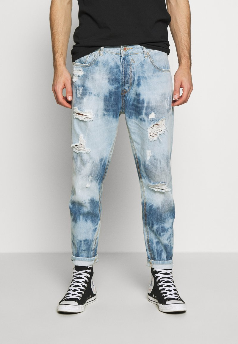 Gianni Lupo - Jeans Slim Fit - blue denim