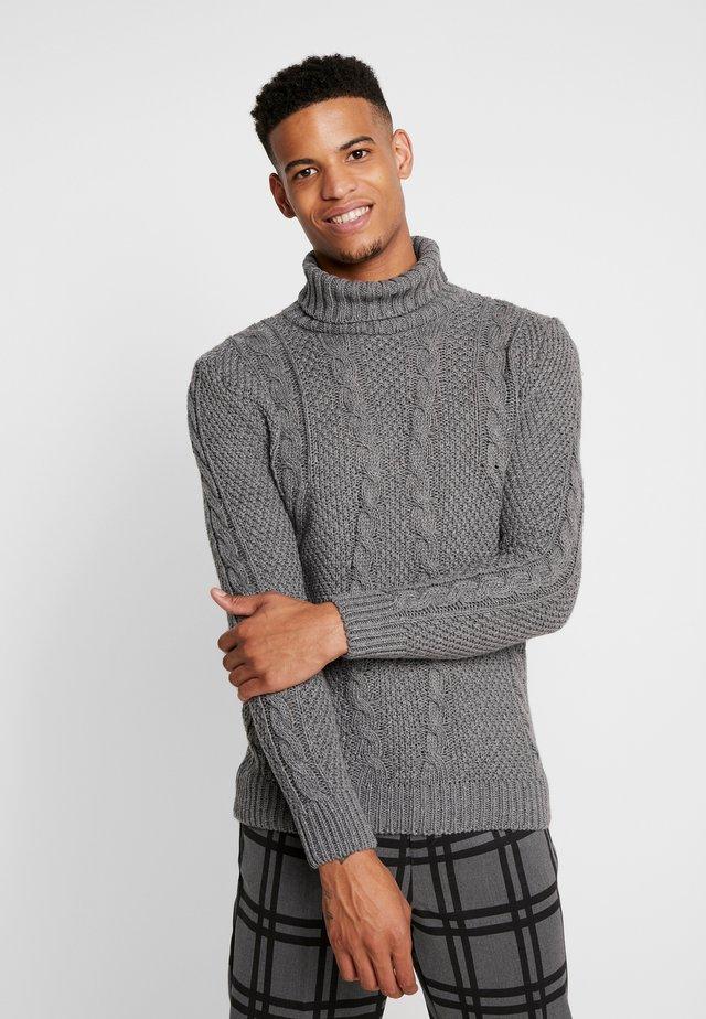 MAGLIA - Stickad tröja - grey