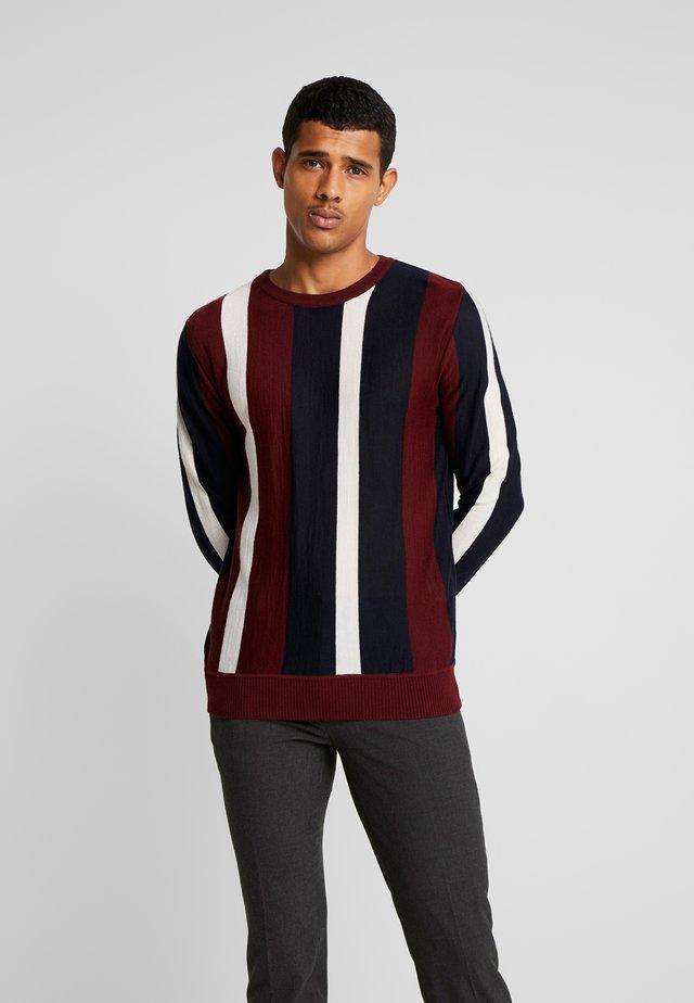 MAGLIA - Stickad tröja - red