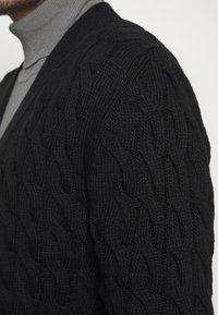 Gianni Lupo - Strikjakke /Cardigans - black - 5