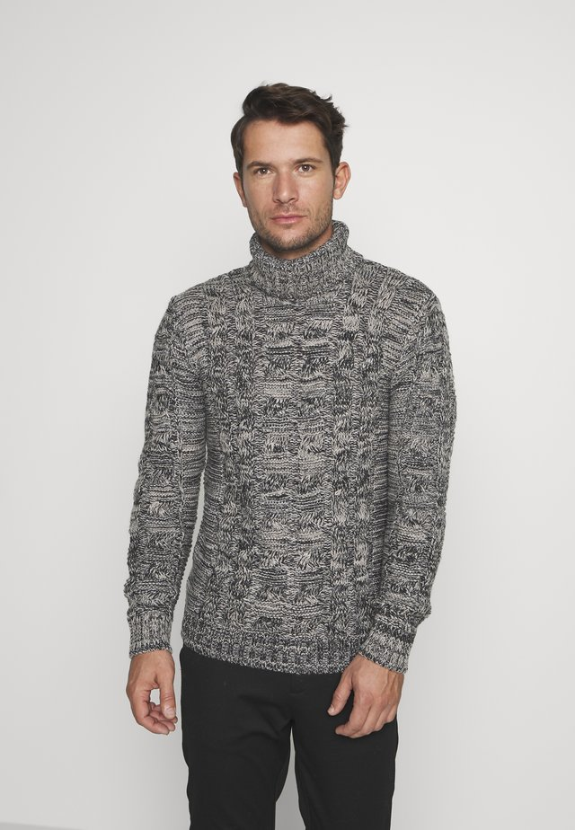 TURTLENECK - Neule - grey