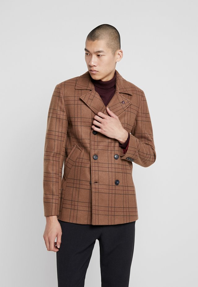 CAPPOTTO - Short coat - camel