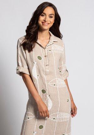 Shirt dress - vanille