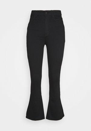 NATASHA  - Bootcut jeans - black