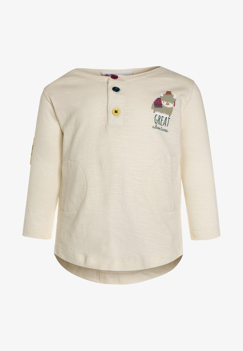 Gelati Kidswear - LONGSLEEVE BABY - Langarmshirt - beige