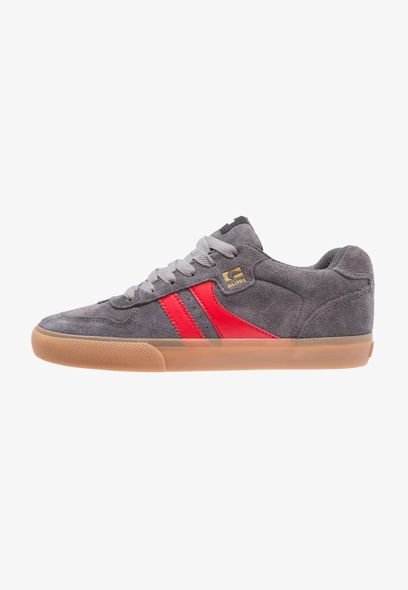 Globe - ENCORE - Skate shoes - charcoal/red
