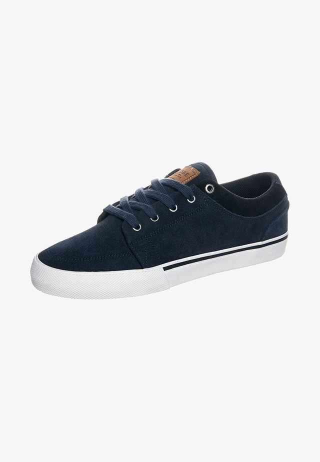 Baskets basses - navy suede