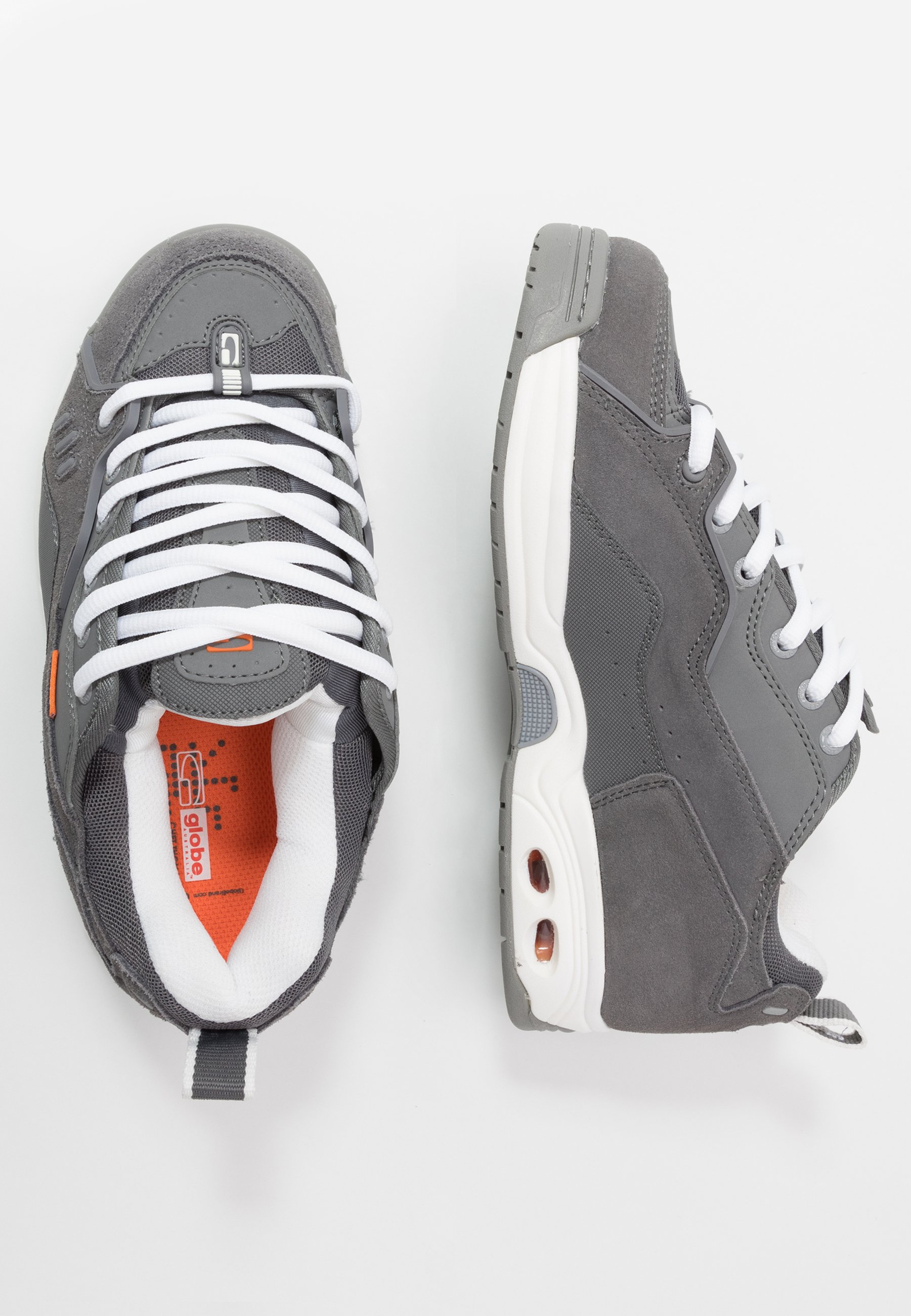 Globe Ct-iv Classic - Chaussures De Skate Grey/white/orange