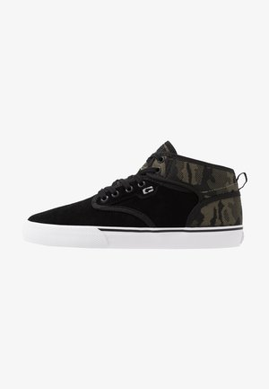 MOTLEY MID - High-top trainers - black