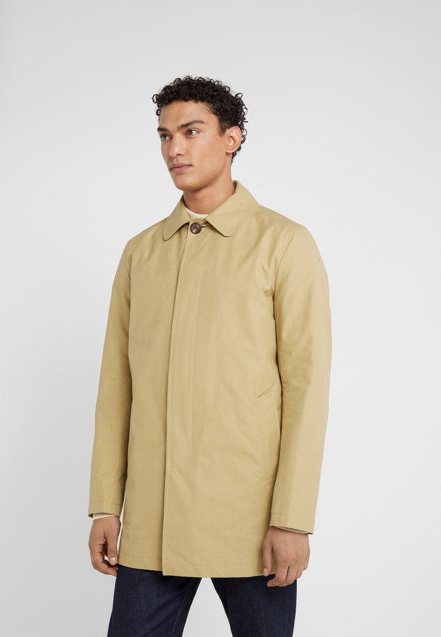 JAMES CAR COAT - Halflange jas - stone
