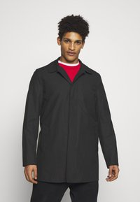 Gloverall - JAMES CAR COAT - Short coat - black - 0