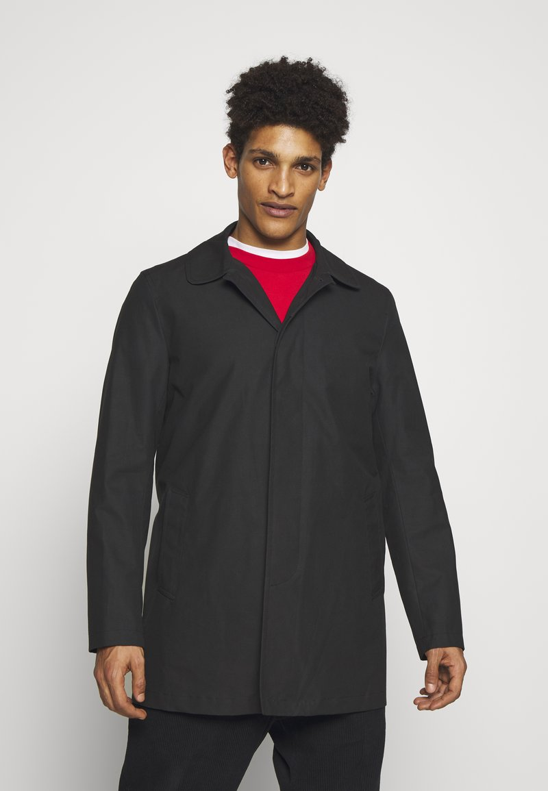 Gloverall - JAMES CAR COAT - Short coat - black