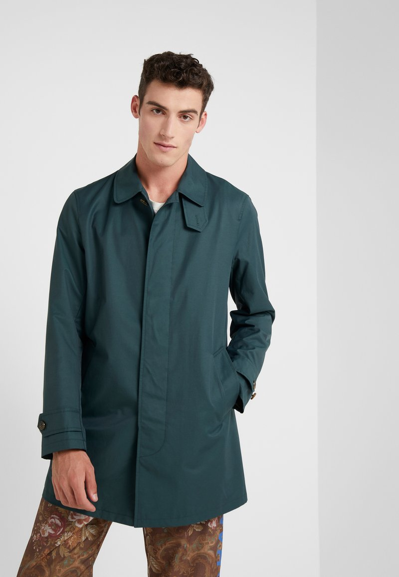 Gloverall - MANSELL CAR COAT - Short coat - green