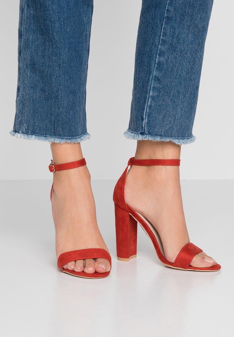 Glamorous - Højhælede sandaletter / Højhælede sandaler - red