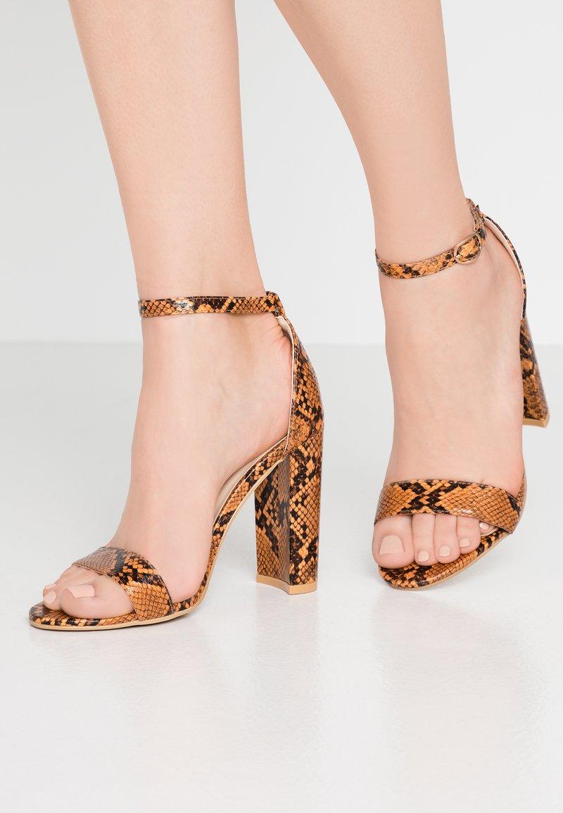 Glamorous - Korolliset sandaalit - multicolor