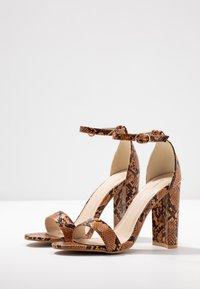 Glamorous - Sandály na vysokém podpatku - multicolor - 4