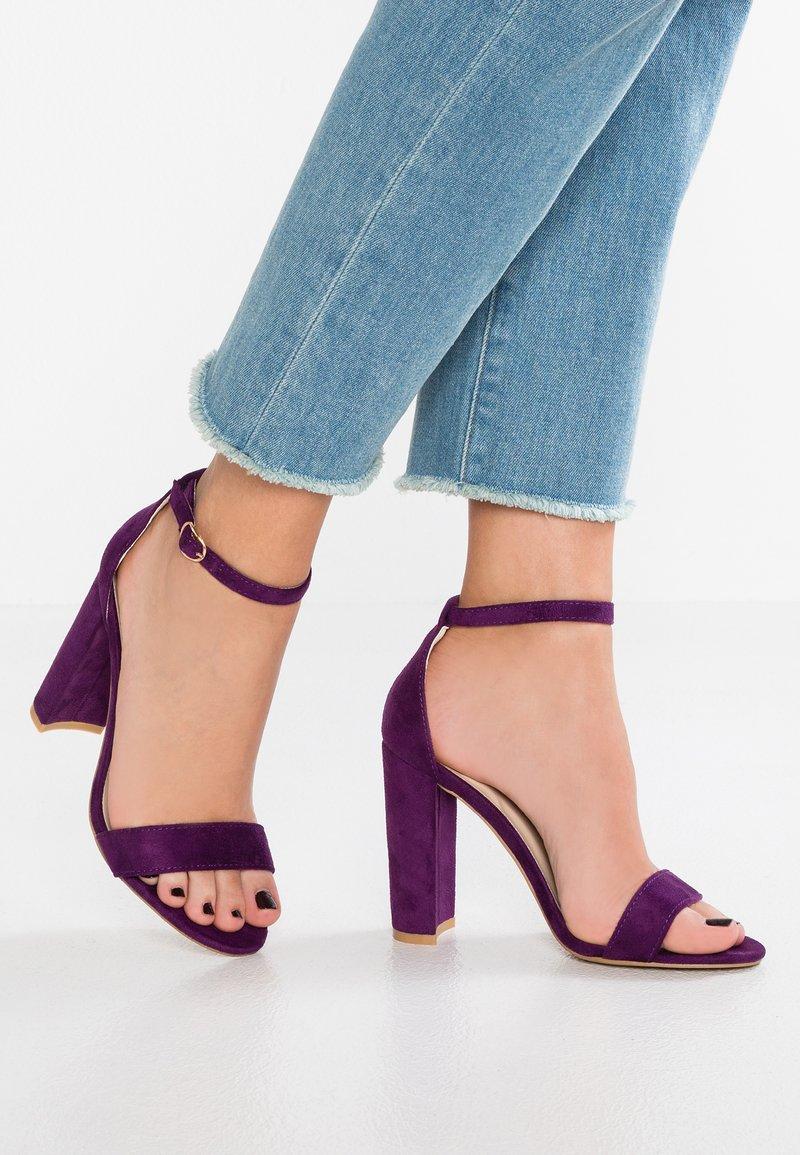 Glamorous - Højhælede sandaletter / Højhælede sandaler - purple
