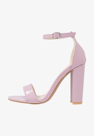 Sandalias de tacón - lilac