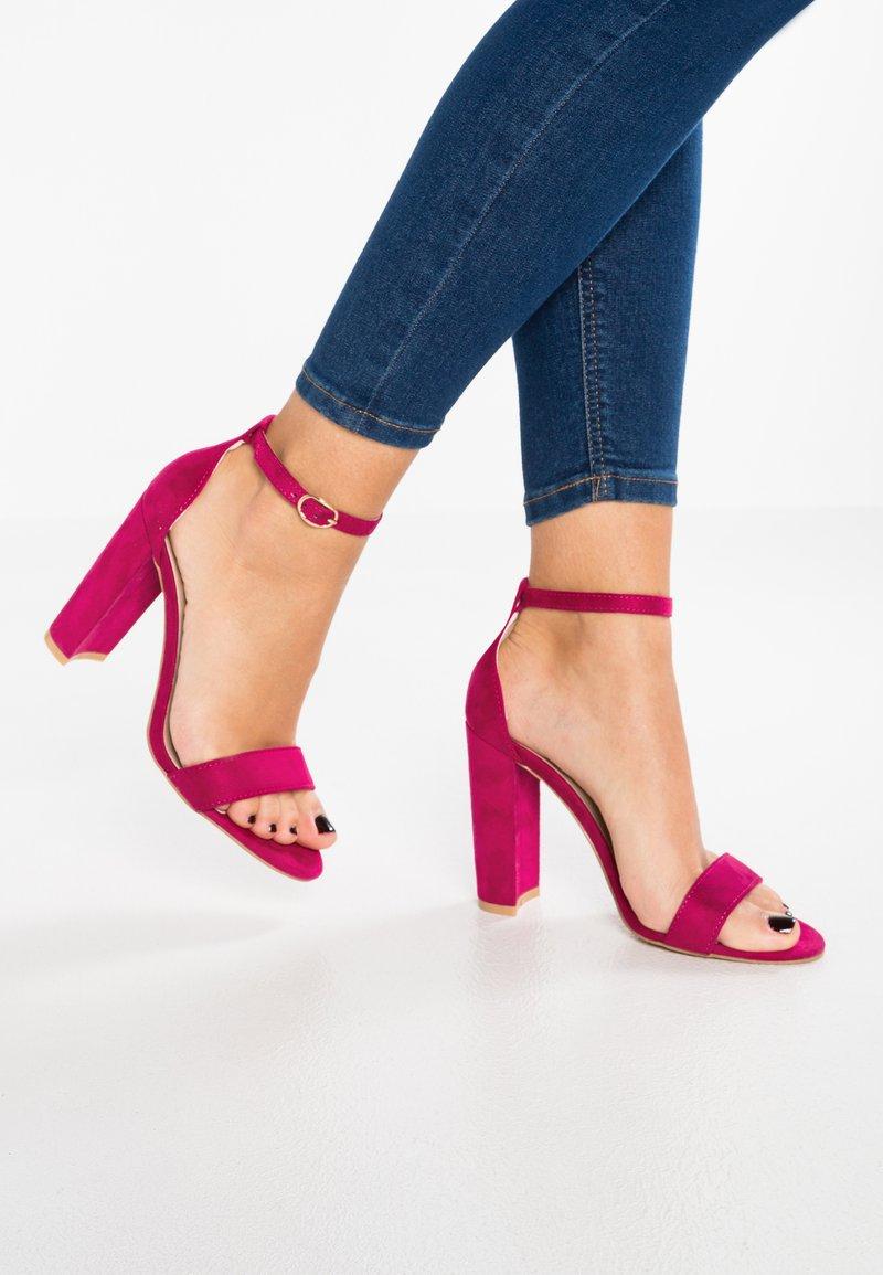Glamorous - Højhælede sandaletter / Højhælede sandaler - fuchsia