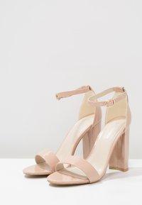Glamorous - Sandales à talons hauts - nude - 2