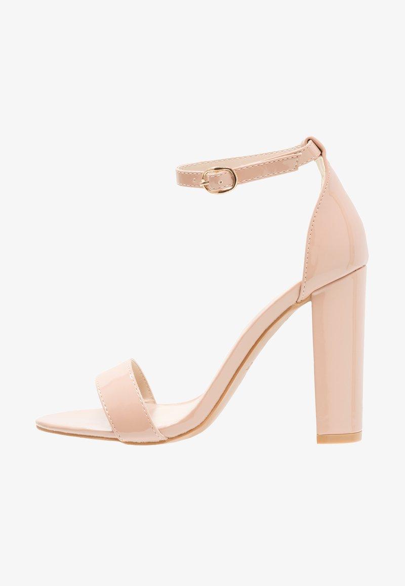 Glamorous - Sandales à talons hauts - nude