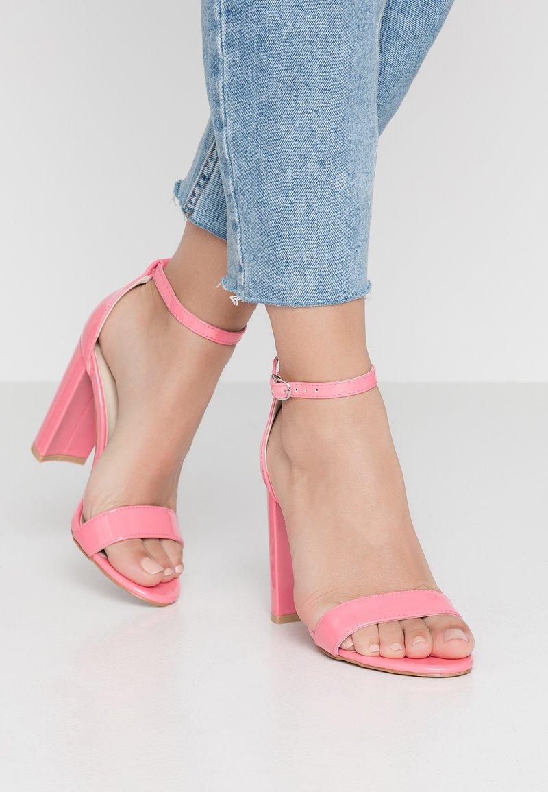 Glamorous - Sandaler med høye hæler - pink