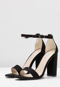 Glamorous - Sandali con tacco - black - 4