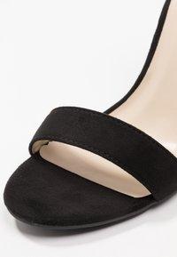 Glamorous - Sandali con tacco - black - 2