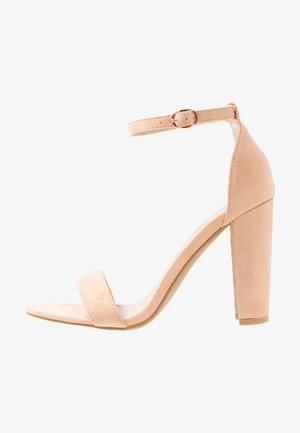 Sandalias de tacón - peach
